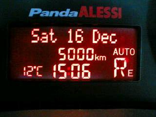 5000km突破!
